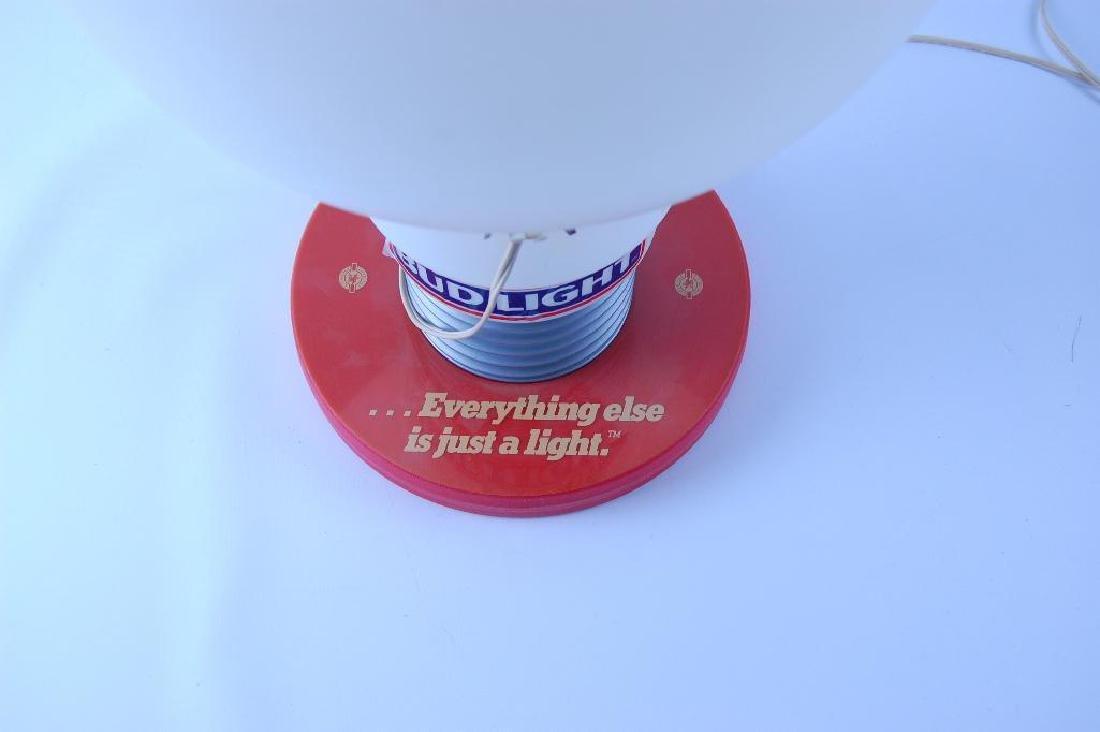 Vintage Bud Light Up Advertising Light Bulb Beer Sign - 3