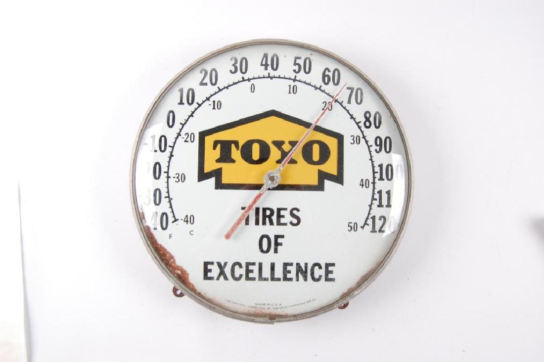 "Vintage Toyo ""Tires of Excellence"" Advertising"