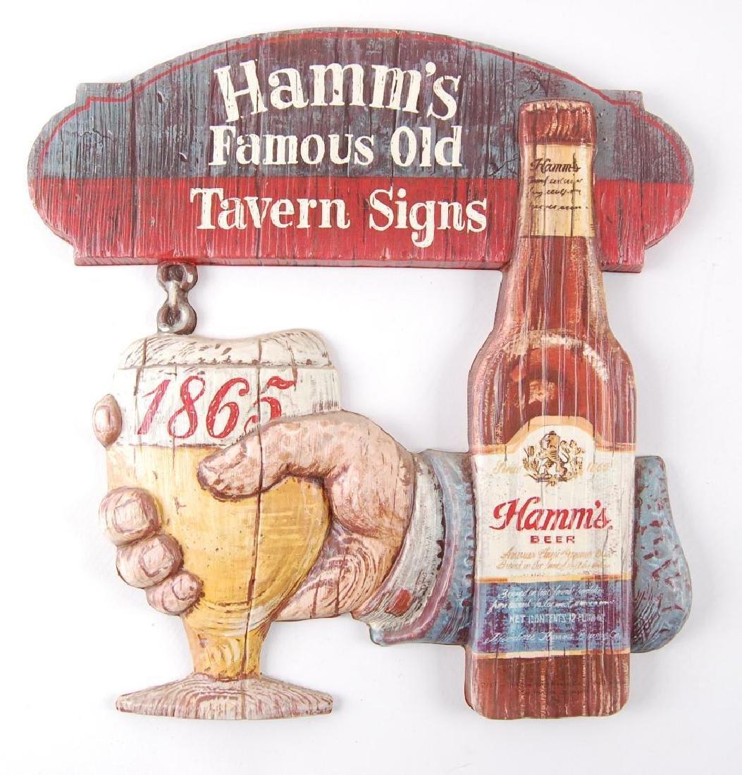 "Vintage Hamm's Beer ""Famous Old Tavern Signs"""