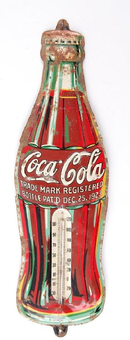 Vintage Coca-Cola Advertising Thermometer