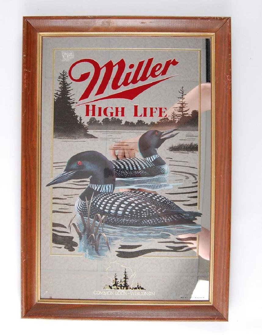 Vintage Miller High Life Common Loon Wisconsin