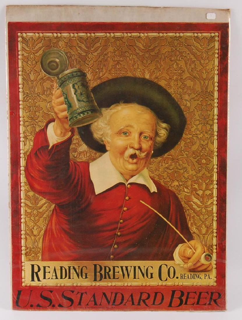 Reproduction Reading Brewing Co. Advertising Poster