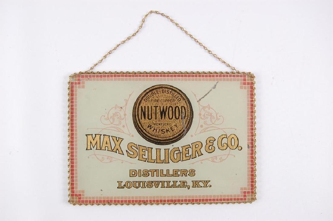 Vintage Max Selliger & Co. Nutwood Whiskey Reverse