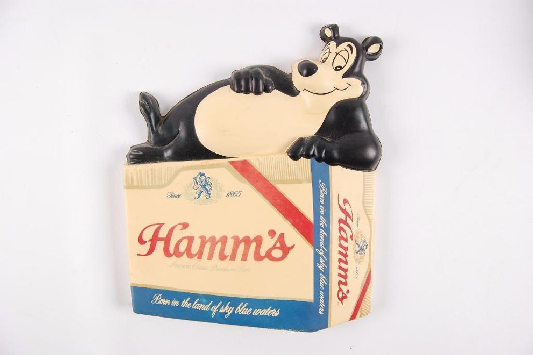 Vintage Hamm's Beer Advertising Vacuum Formed Plastic