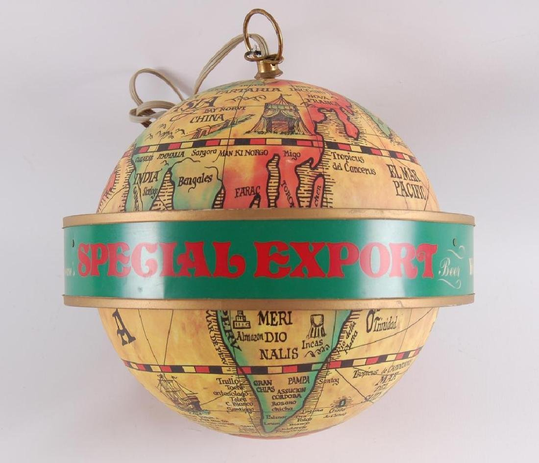 Vintage Heileman's Special Export Light Up Rotating