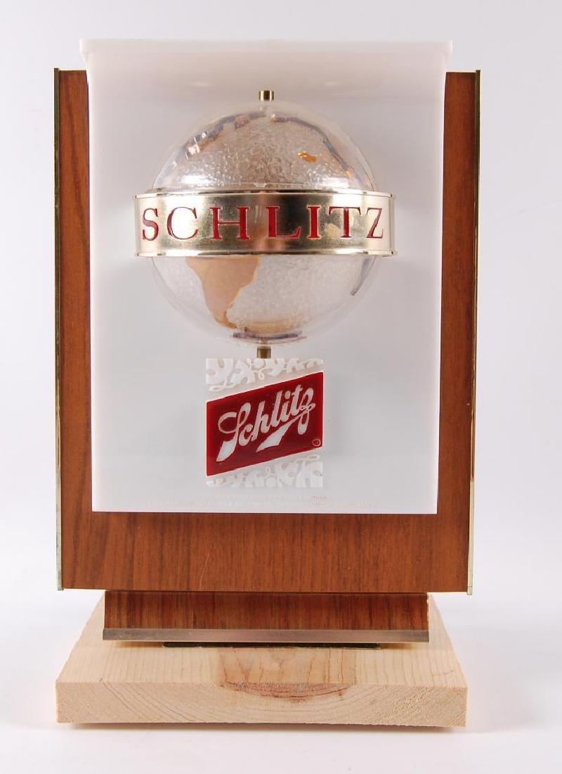 Vintage Schlitz Galaxy Light Up Advertising Cash