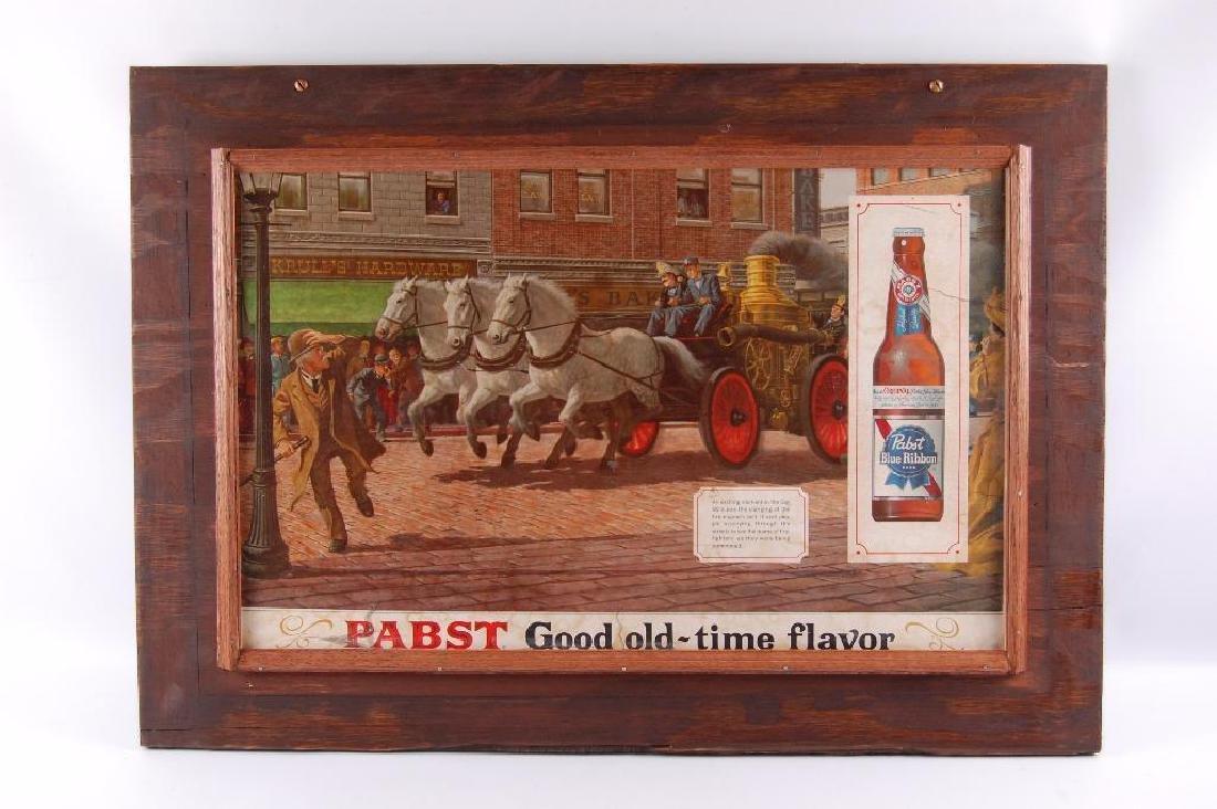 Vintage Pabst Blue Ribbon Firefighting Engine