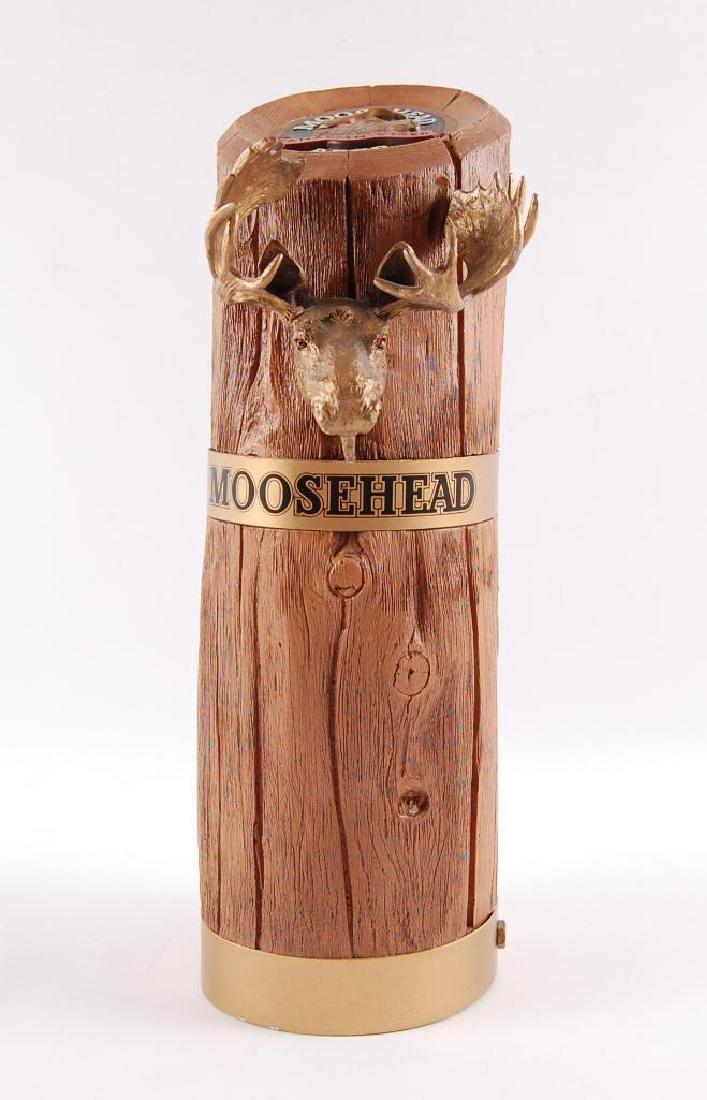 Moosehead Advertising Back Bar Beer Display