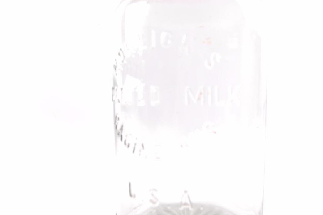 Vintage Horlick's Malted Milk Advertising Ball Jar - 2
