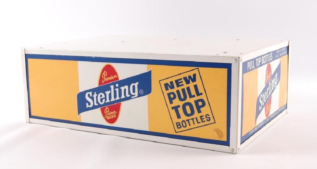 Vintage Sterling Light Up Advertising Base