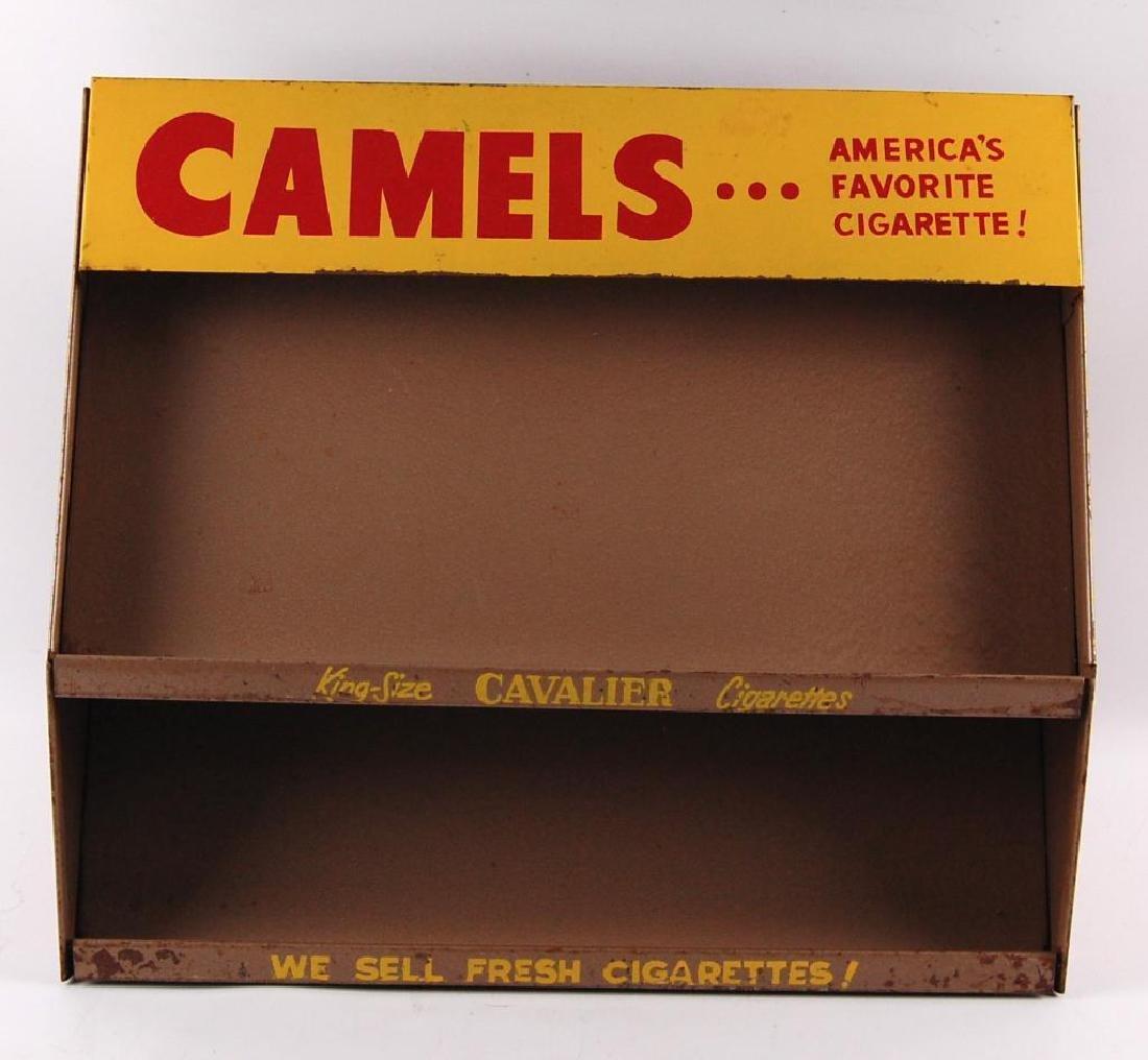 Vintage Camels Cavalier Advertising Store Display