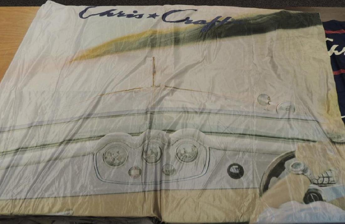 Group of Chris Craft Advertising Flags, Catalogs, and - 4