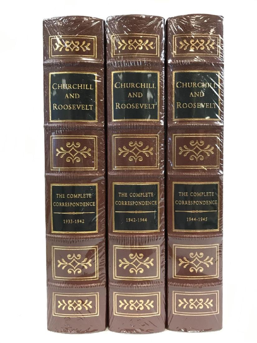 The Easton Press Churchill and Roosevelt Set