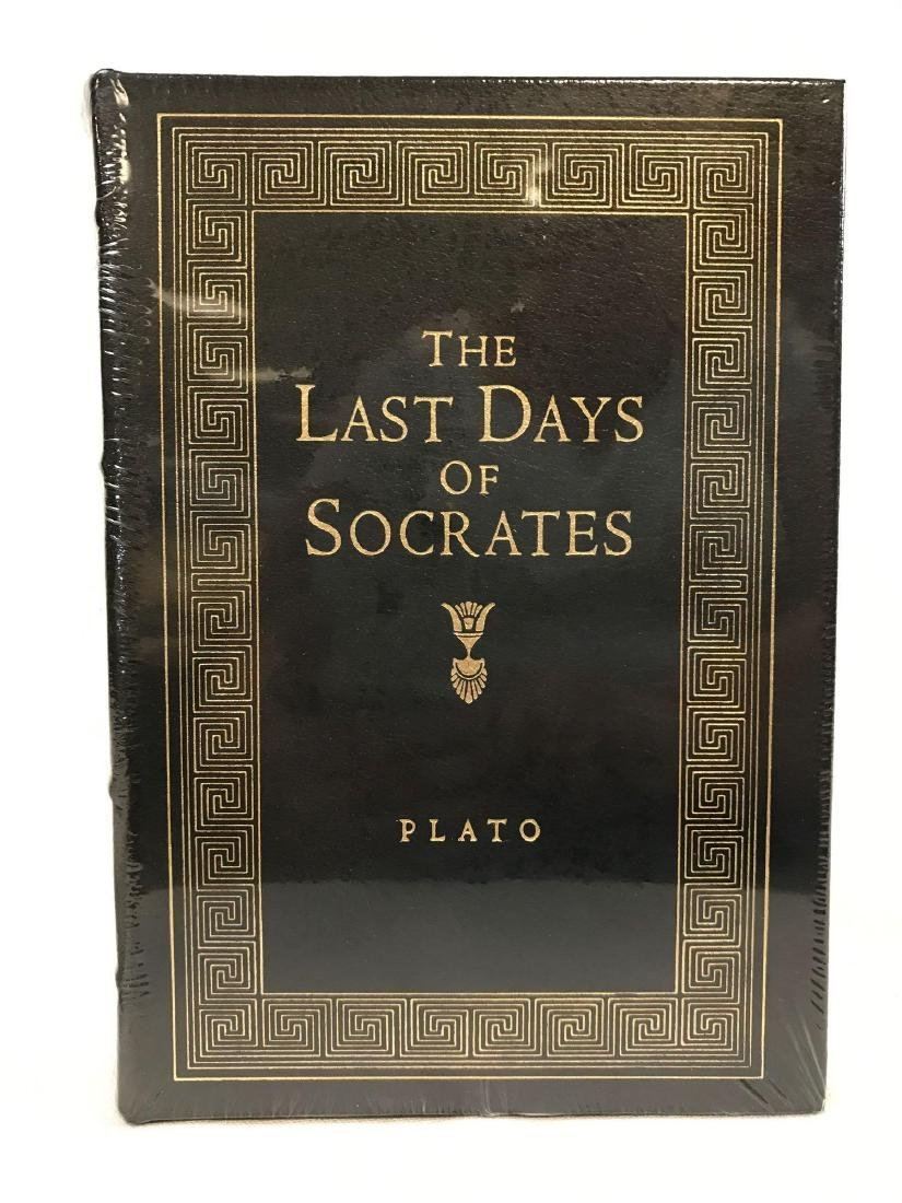 The Easton Press The Last Days of Socrates by Plato