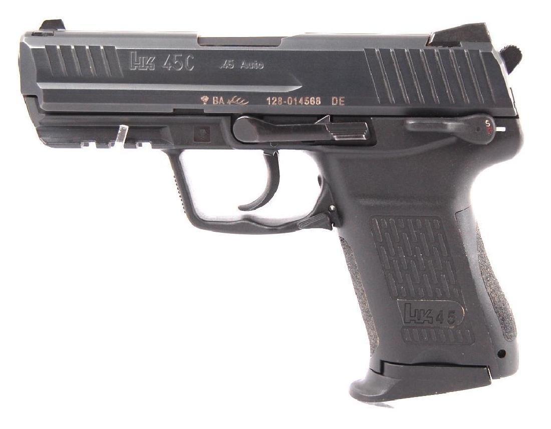 HK 45C .45 Auto Semi Automatic Pistol with Magazine and