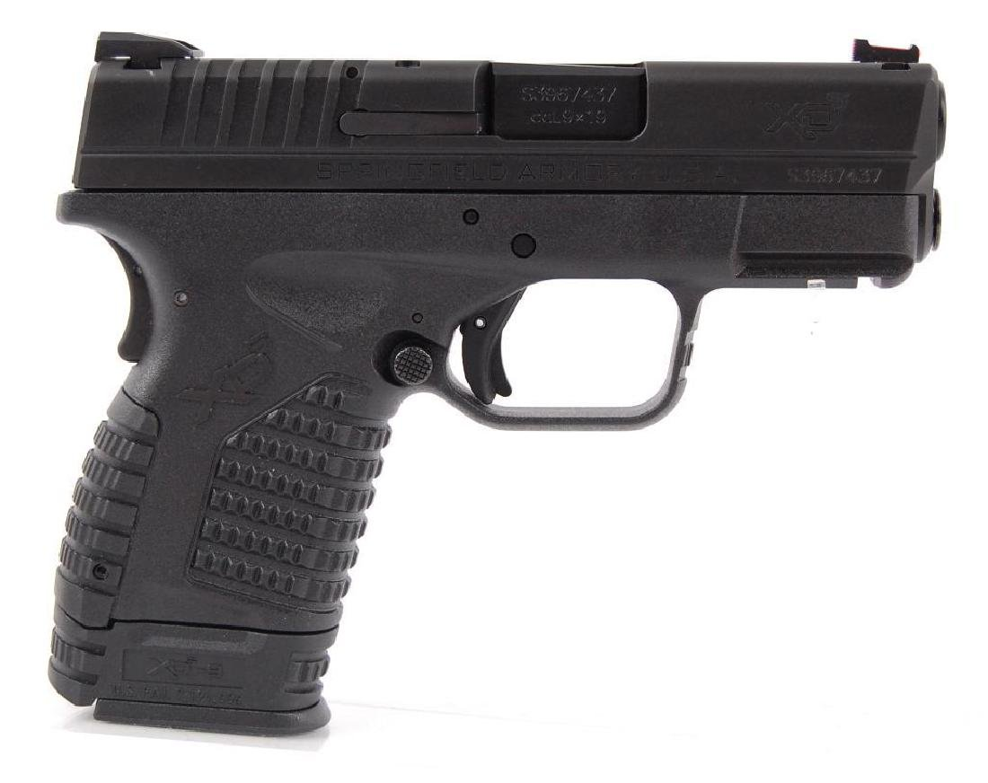 Springfield Armory XDs-9 3.3 Cal. 9x19 Semi Automatic