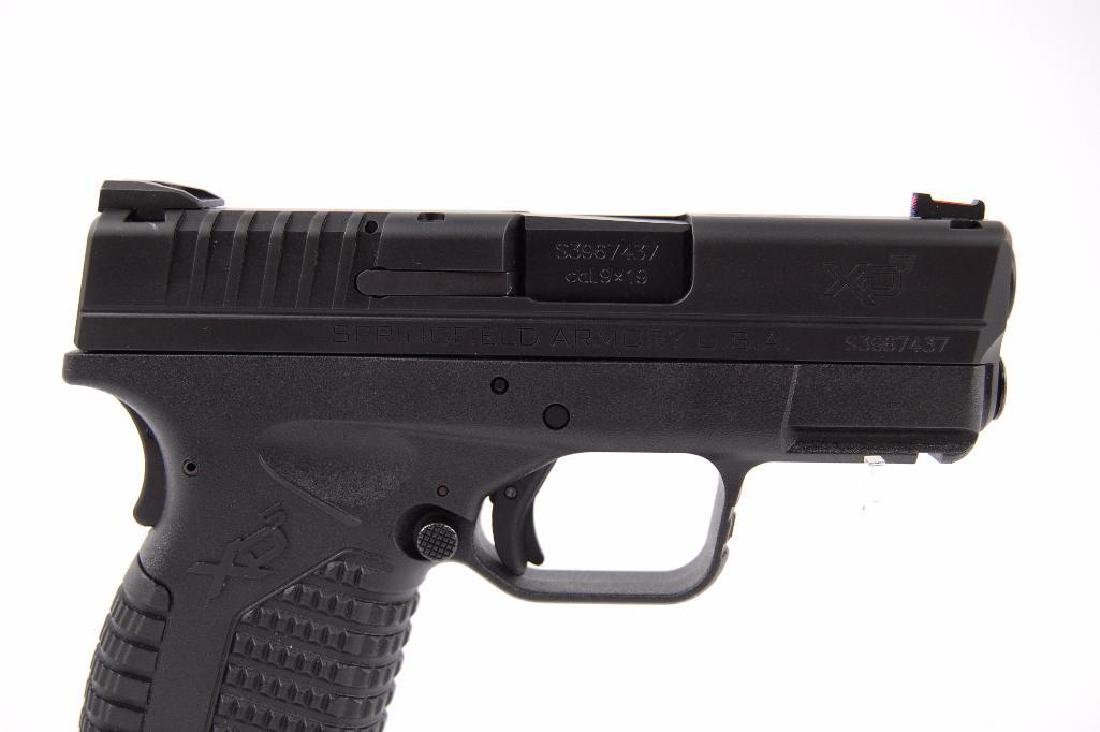 Springfield Armory XDs-9 3.3 Cal. 9x19 Semi Automatic - 2