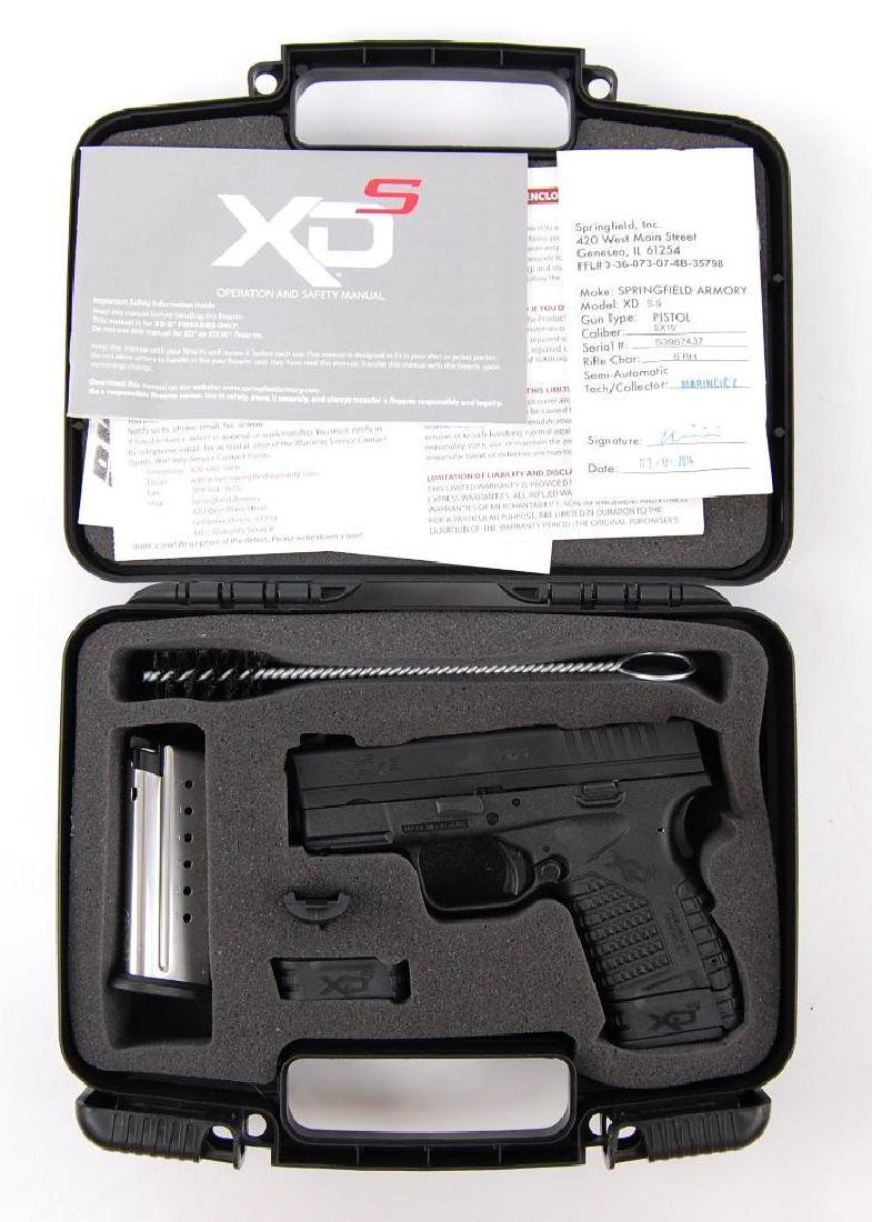 Springfield Armory XDs-9 3.3 Cal. 9x19 Semi Automatic - 5