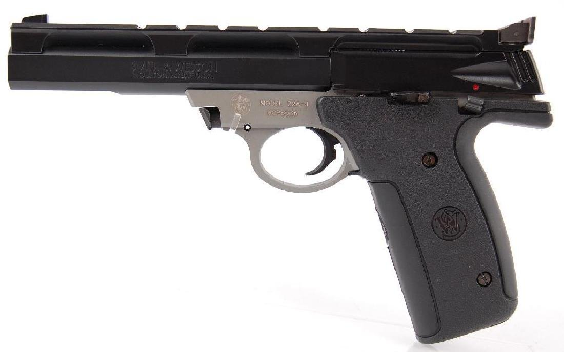 Smith and Wesson Model 22A-1 .22 Long Rifle Semi