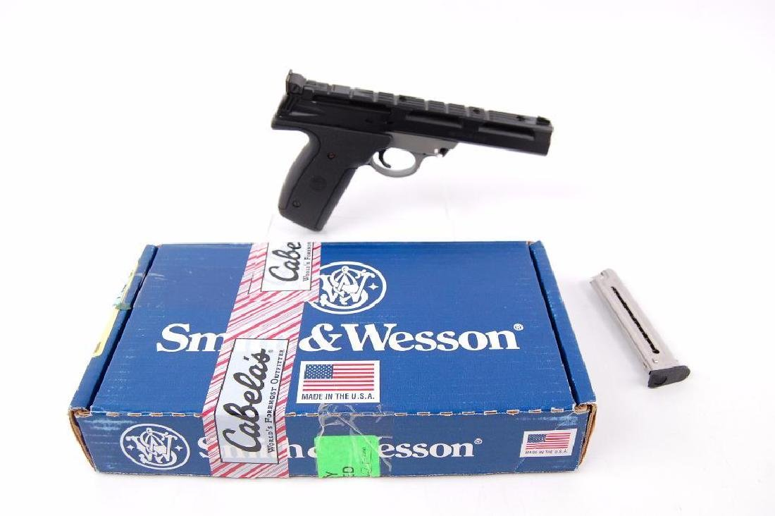 Smith and Wesson Model 22A-1 .22 Long Rifle Semi - 6