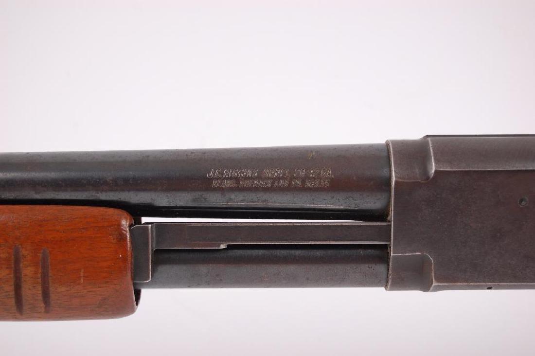 J.C. Higgins Model 20 12GA Pump Action Shotgun - 10