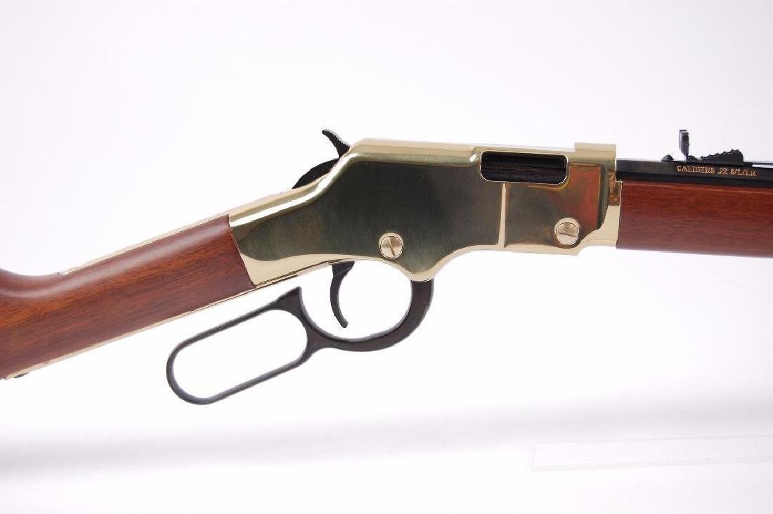 Henry Repeating Arms Co. .22 Cal. Octagon Barrel Lever - 2