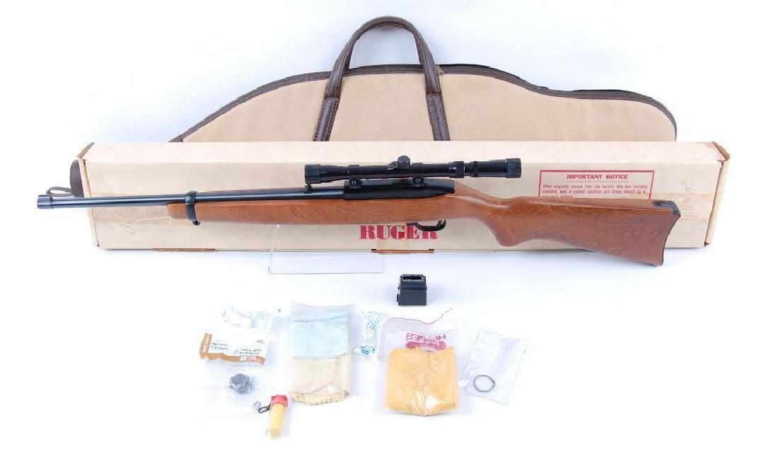 Ruger Model 10/22 .22 LR Semi Automatic Carbine with - 10