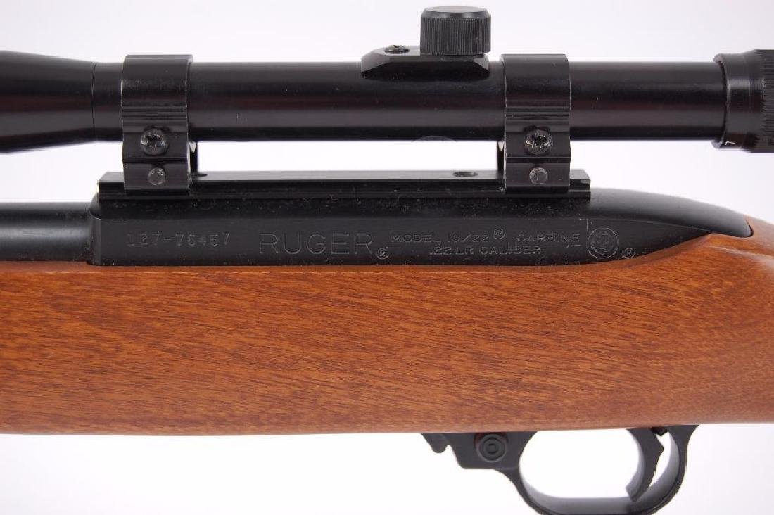Ruger Model 10/22 .22 LR Semi Automatic Carbine with - 9