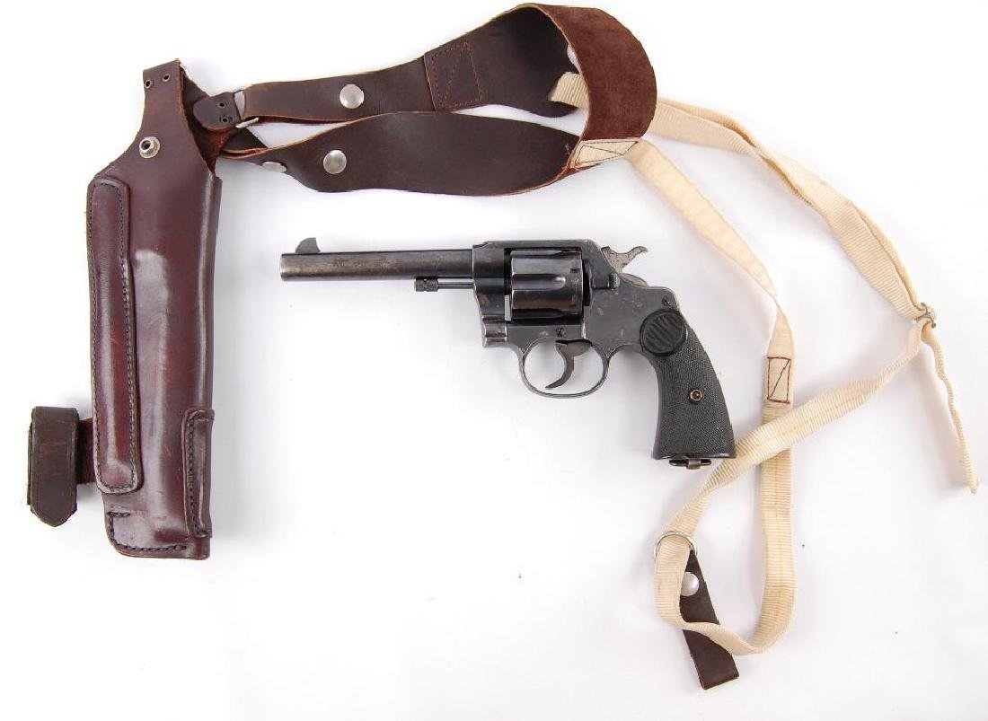 Colt New Service 455 Eley Double Action Revolver with - 10