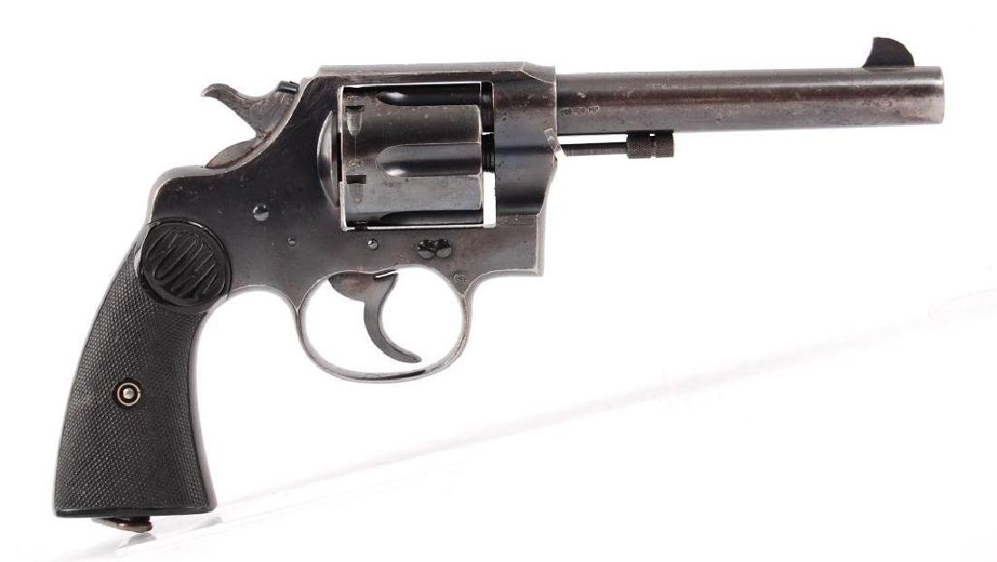 Colt New Service 455 Eley Double Action Revolver with