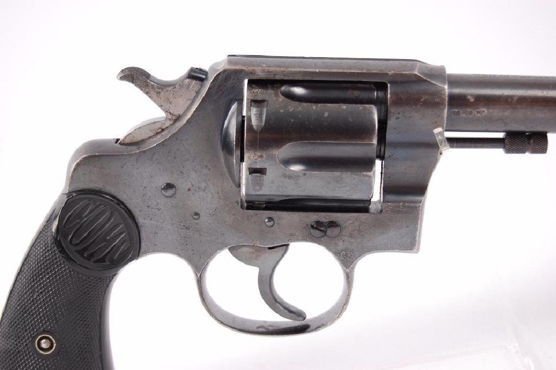 Colt New Service 455 Eley Double Action Revolver with - 2