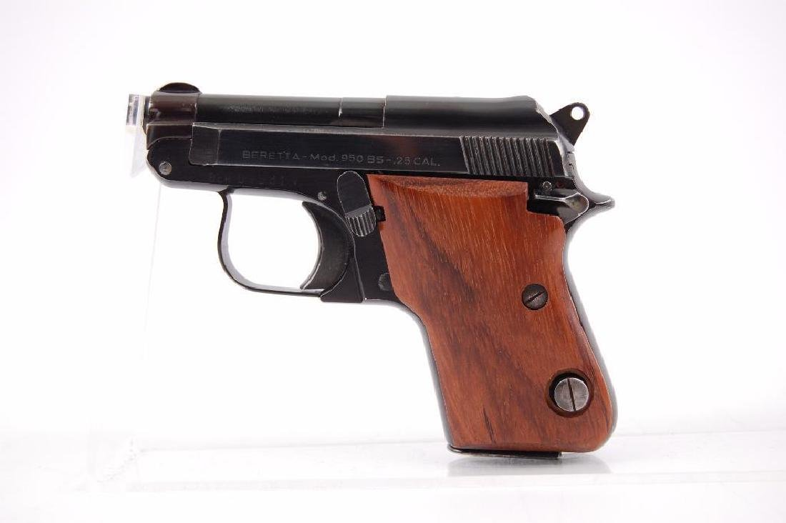Beretta Model 950 BS .25 Cal. Semi Automatic Pistol - 2