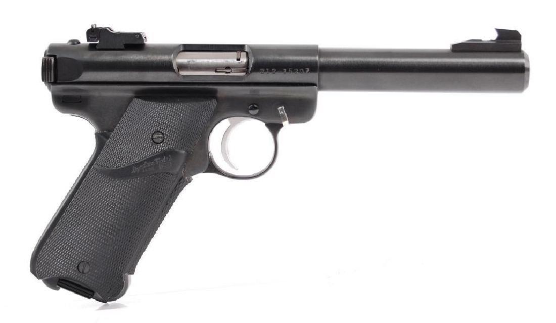 Ruger Mark II .22 LR Cal. Semi Automatic Target Pistol