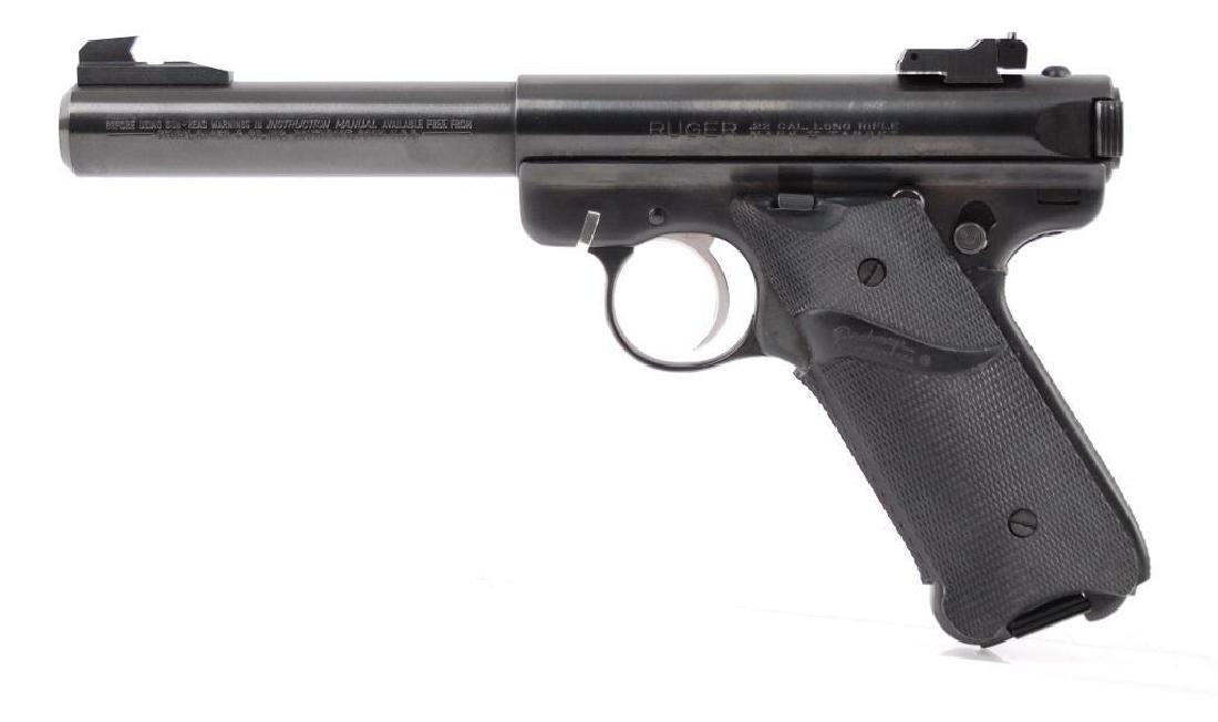 Ruger Mark II .22 LR Cal. Semi Automatic Target Pistol - 2