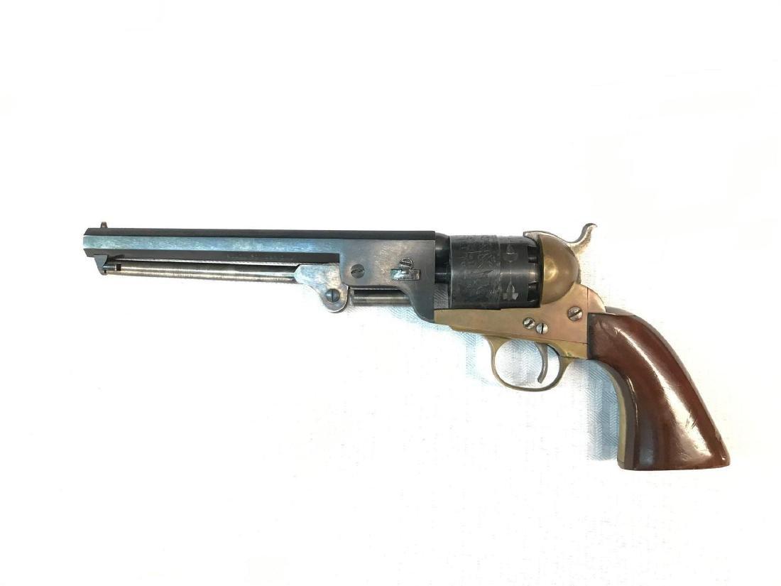 Italian made Cal .44 Navy model Blackpowder revolver - 4