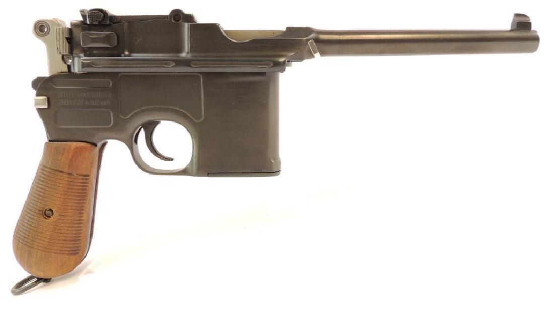 Broom Handle Mauser C96 9mm Parabellum Semi Auto Pistol - 2