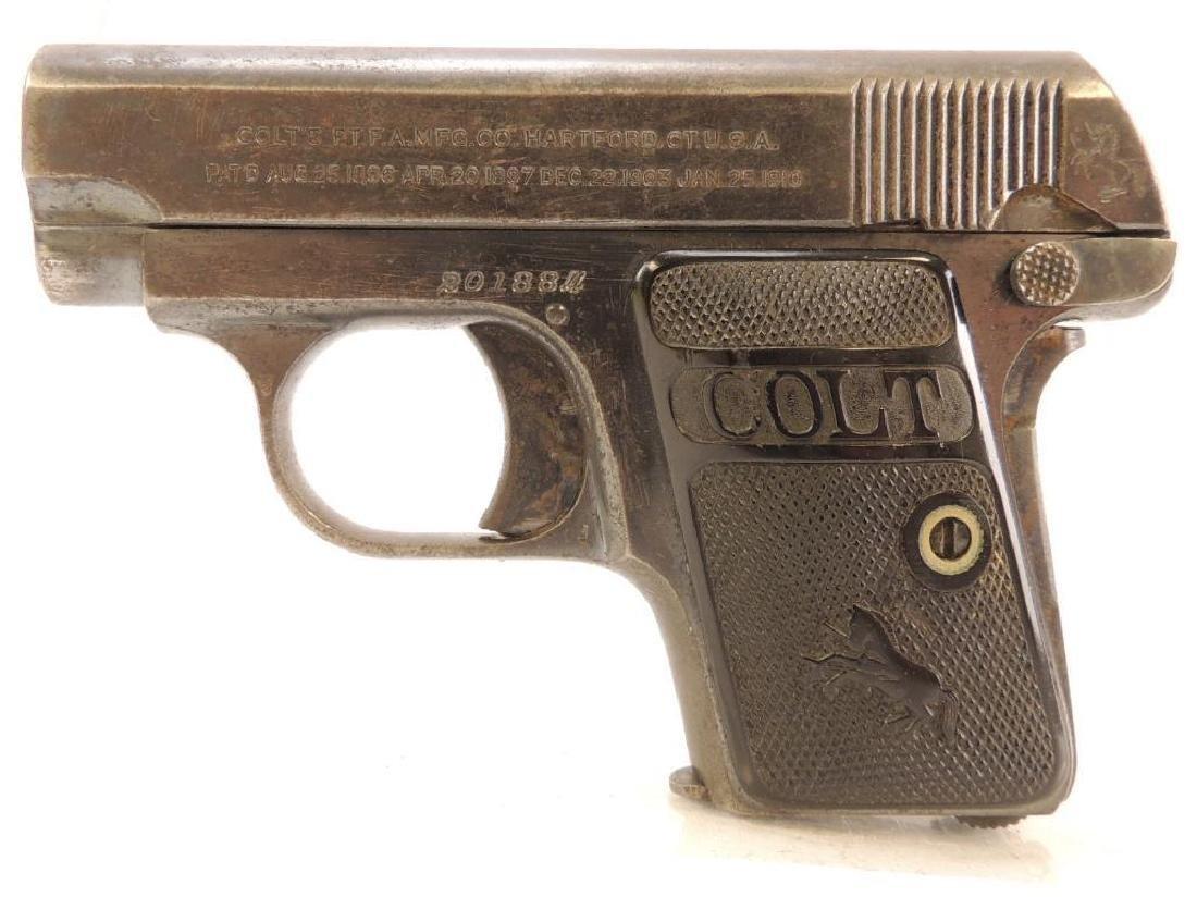 Colt .25 Cal. Semi Auto Pistol