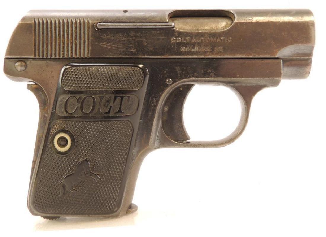 Colt .25 Cal. Semi Auto Pistol - 2
