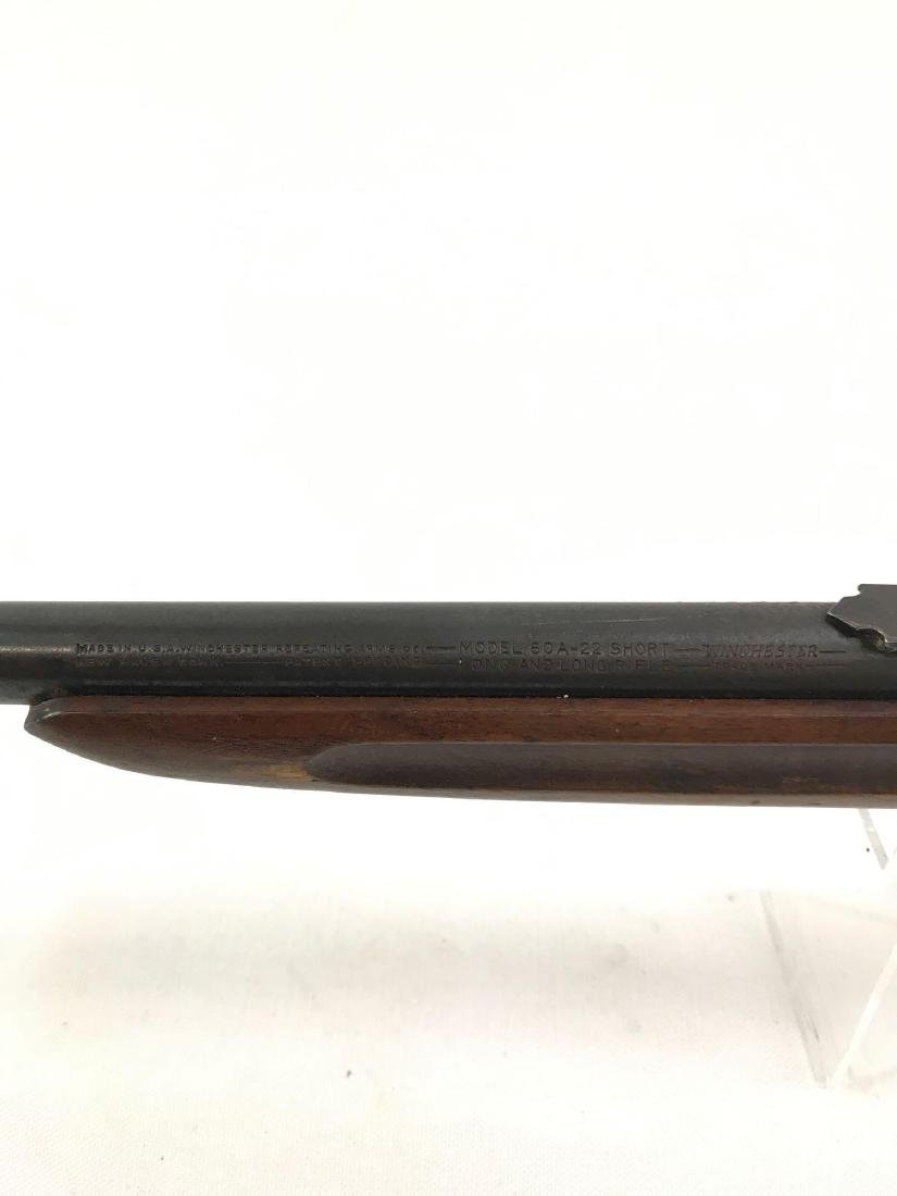 Winchester Model 60A .22 Cal. Bolt Action Rifle - 4