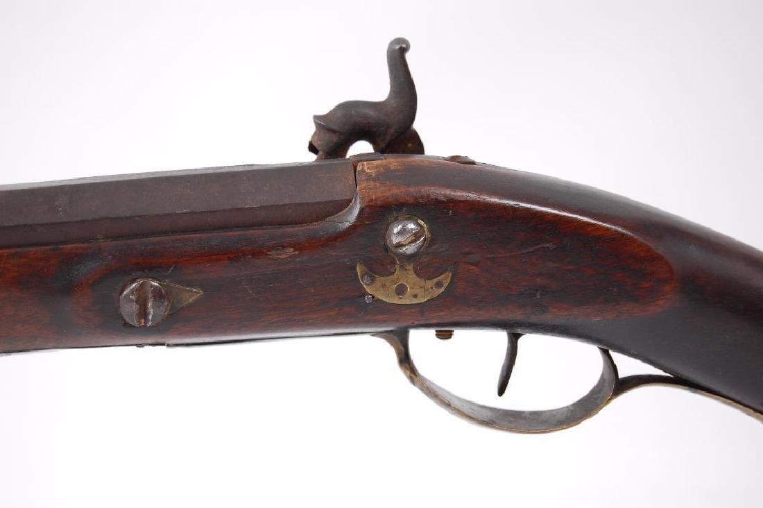 1820-1840 Iowa Black Powder Musket with Octagon Barrel - 8