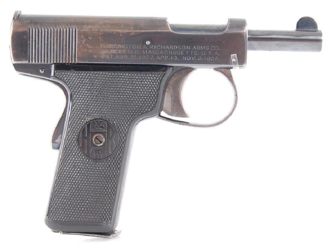 Harrington & Richardson Self Loading Model 32 ACP Semi - 3