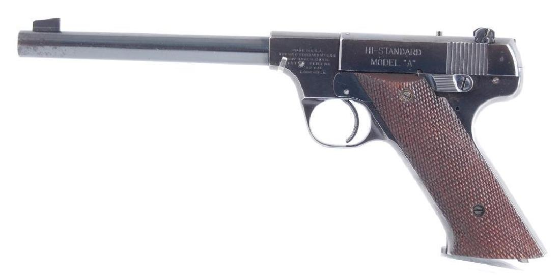 High Standard Model A 22LR Cal. Semi Automatic Pistol