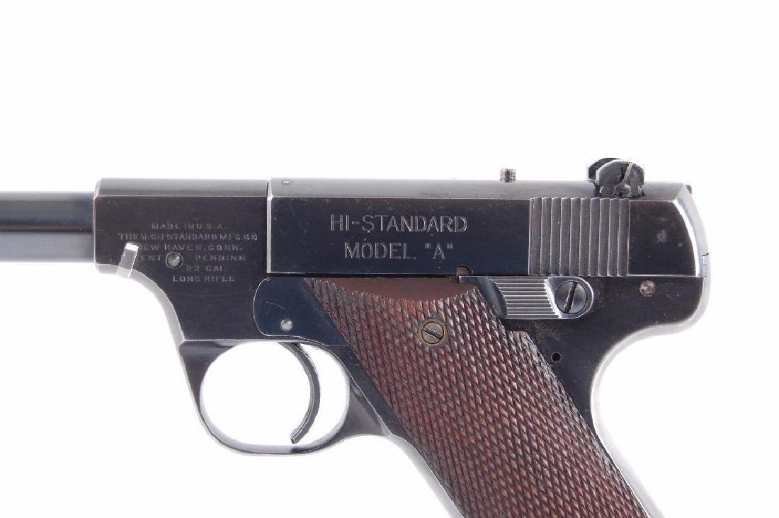 High Standard Model A 22LR Cal. Semi Automatic Pistol - 2