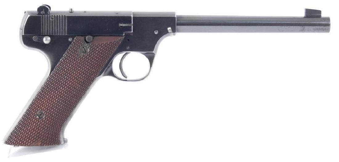 High Standard Model A 22LR Cal. Semi Automatic Pistol - 3