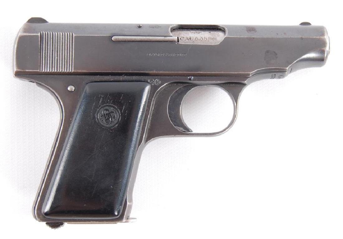 Deutsche Werke Ortigies 6.35mm Semi Automatic Pistol