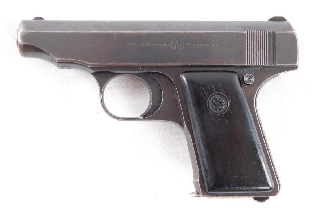 Deutsche Werke Ortigies 6.35mm Semi Automatic Pistol - 2