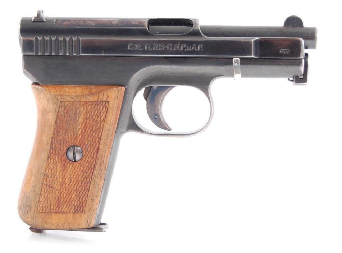 Mauserwerke Model 1910 6.35mm Semi Automatic Pistol - 3