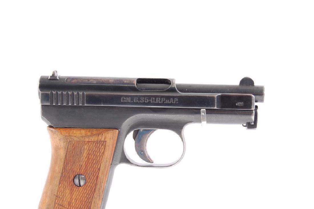 Mauserwerke Model 1910 6.35mm Semi Automatic Pistol - 4