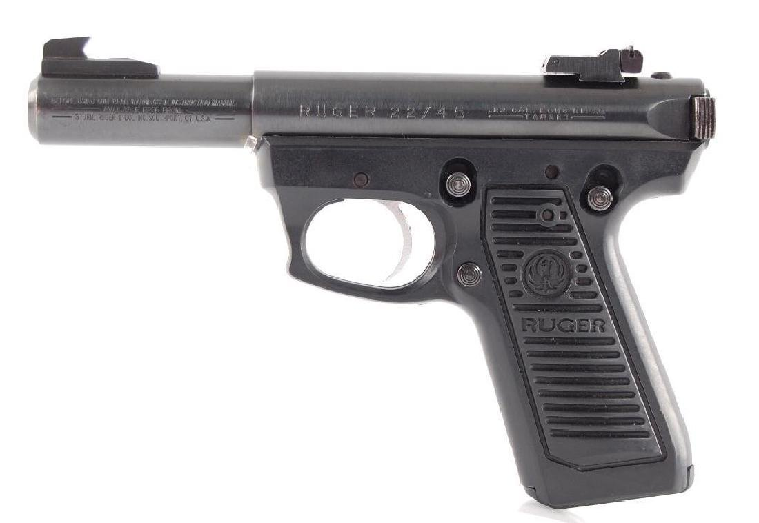 Ruger Model 22/45 22LR Cal. Semi Automatic Pistol with - 4