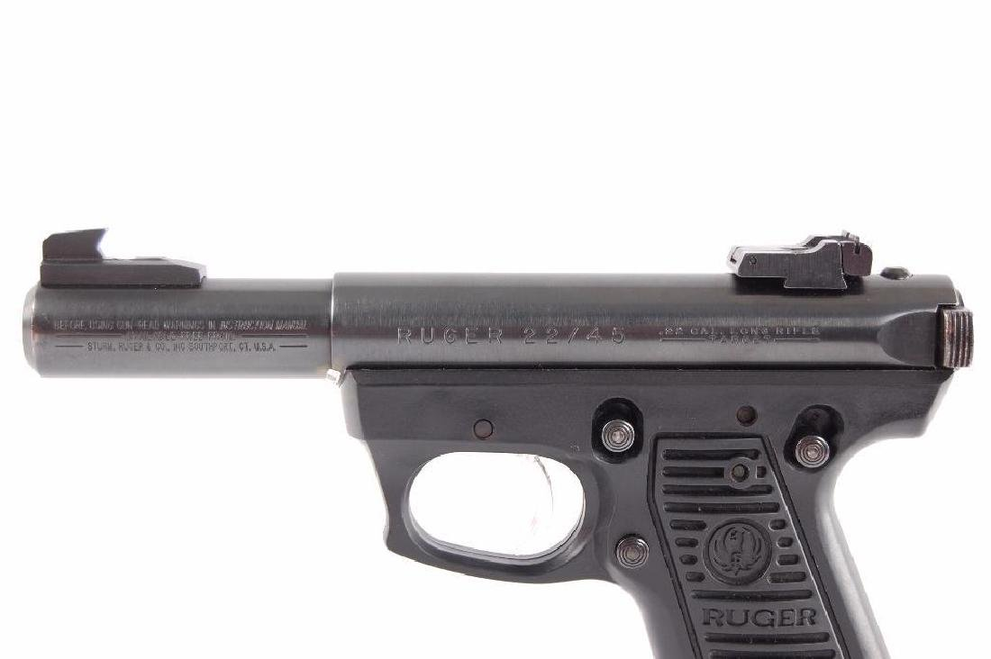 Ruger Model 22/45 22LR Cal. Semi Automatic Pistol with - 5